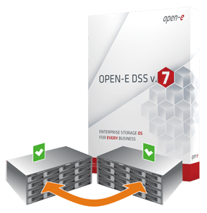 Open-E DSS V7 plus Active-Active Failover
